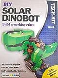 Kids Teens Unisex Boys DIY Assembly Solar DINOBOT Robotic Kit Robot Perfect Education Tool Toys