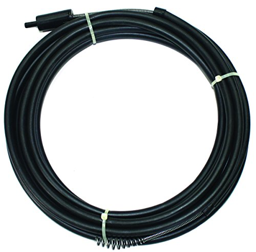 Drain Snake Power 1/4X25Ft Black