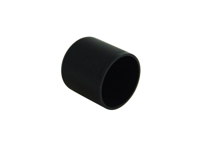 capuchons pour pieds de tubulaires 20 mm de diam/ètre GleitGut Lot de 16 embouts de chaise noir