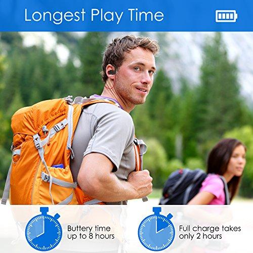 Bluetooth Headphones Wireless - Mens Womens Running Headphones - Best Sports Wireless Earbuds Earphones - IPx7 Wireless In-ear Headphones - Sport Bluetooth Headphones for Women Men (up to 10 Hours) - Image 8