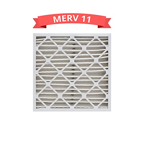 Replacement MERV 11 Pleated 16x25x4 Air Filters for Honeywell FC100A1029 (1 Pack) by Refresh