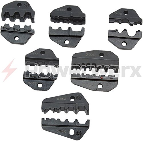 Powerwerx TRIDIES Interchangeable accessory die sets for the TRIcrimp powerpole crimping tool