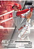 #7: 2018 Topps Stadium Club Never Compromise #NC-RH Rhys Hoskins NM-MT Phillies