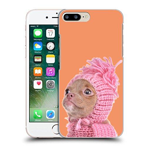 GoGoMobile Coque de Protection TPU Silicone Case pour // Q05690607 Chihuahua chapeau Atomic Tangerine // Apple iPhone 7 PLUS