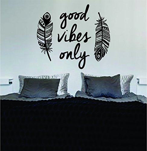 Feathers Vibes Design Decal Sticker product image