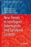 New Trends in Intelligent Information and Database Systems, Barbucha, Dariusz and Nguyen, Ngoc Thanh, 3319162101