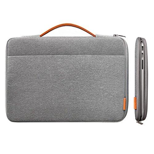 Inateck 13,3 Zoll Macbook Air/ Pro Retina Sleeve Hülle Ultrabook 33,8-cm-Laptop Tasche Speziell für 13,3