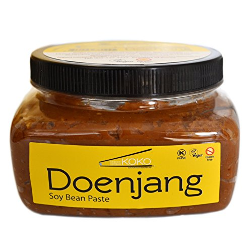 (Koko Doenjang Korean Miso (Fermented Soybean Paste) 14.8oz(420g) - Certified Kosher Doenjang - Premium Gluten Free 100% Korean - All Natural)