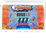 Arcade Pinball Machine Automatically Counts and