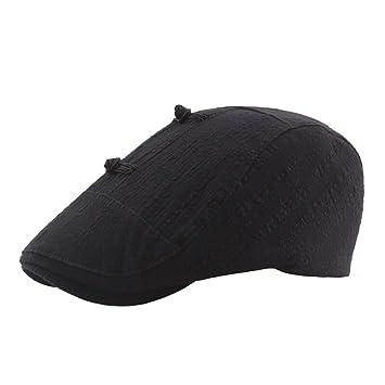 Clearance Sale! Newsboy Beret Ivy Cap Cabbie Flat Cap for Men and Women e2082ef88ac