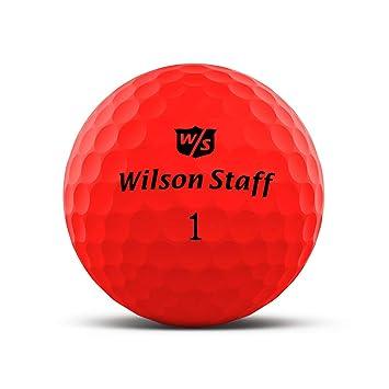 amazon bolas de golf wilsonestaf 2 rojas y precio