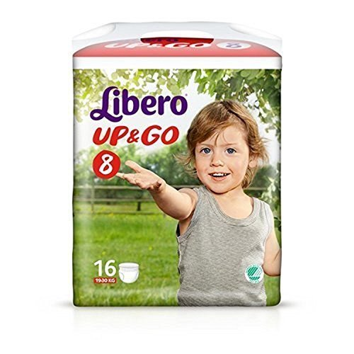 Libre Up & Go taille 8 (19-30Kg) 16 couches culotte SCA