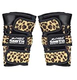 Smith Safety Gear Scabs Wrist Guards, Brown Leopard, Medium