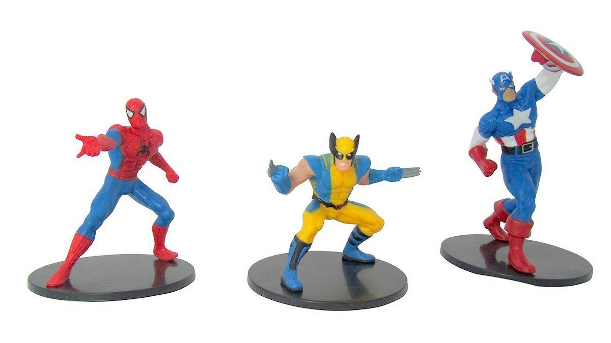 Toys Market Srl Marvel personajes conf.3 unidades.