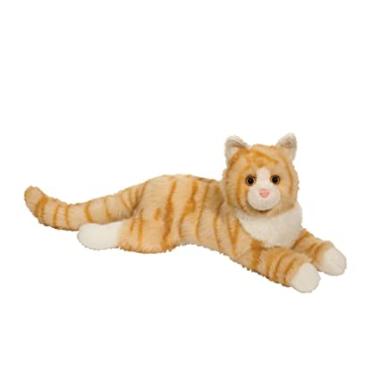 Douglas Oriole Orange Cat Plush Stuffed Animal