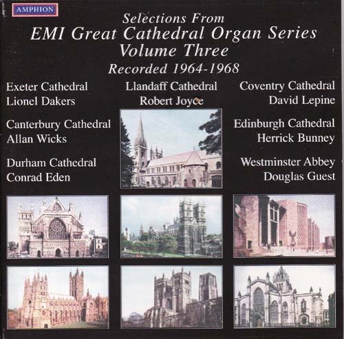 EMI Great Cathedral Organ Series Volume 3 : 1964 - 1968