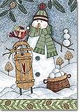Snowball Season Winter House Flag Review