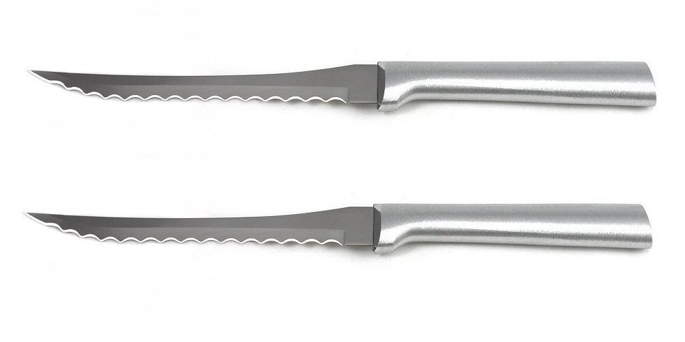 Rada MFG Rada Cutlery Tomato Slicer, Aluminum Handle, 2 Pack by Rada MFG