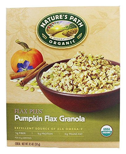 Natures Flax Cereal Path - Nature's Path Organic - Granola Flax Plus Pumpkin - 11.5 oz.