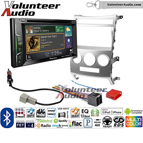 - Volunteer Audio Pioneer AVH-501EX Double Din Radio Install Kit with DVD/CD Player Bluetooth Fits 2007-2012 Hyundai Veracruz (Manual A/C Controls)
