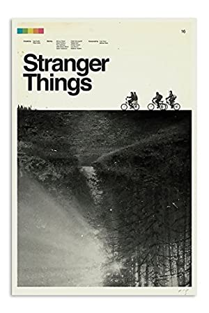 Remarkable Poster's Stranger Things Season One Quoted T V Show Series 12 X 18 Inch Poster Print Ultra HD Multicolour Unframed Rolled Great Wall Décor