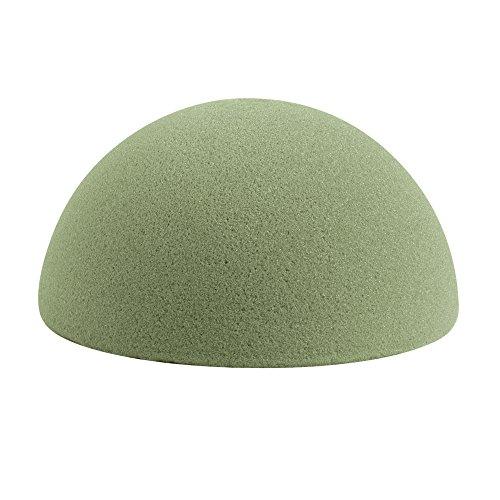 FloraCraft Half Ball Arranger Desert Foam, 4 by 2-Inch,