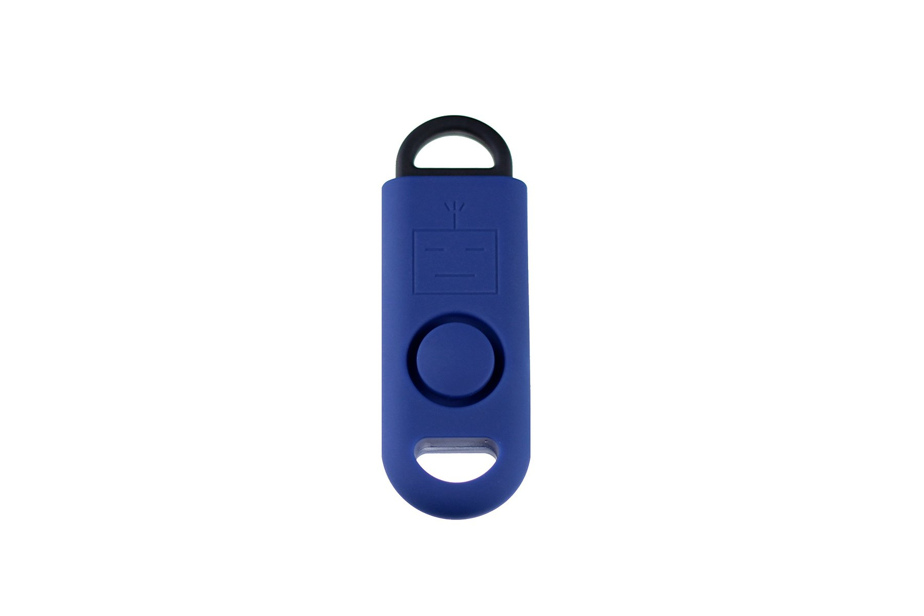 B A S U eAlarm+ with Tripwire Hook, Emergency Personal Alarm, Battery Included, Carabiner Included, Navy Blue by B A S U (Image #2)
