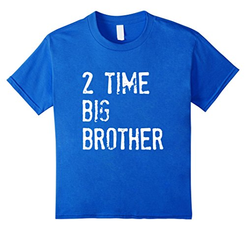 Kids 2 Time Big Brother t-shirt 10 Royal Blue (T-shirt Youth Time Big)