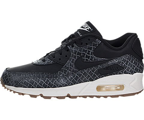 new style bee9f 43dd4 Galleon - Nike Air Max 90 Premium Womens Running Shoes (8 B(