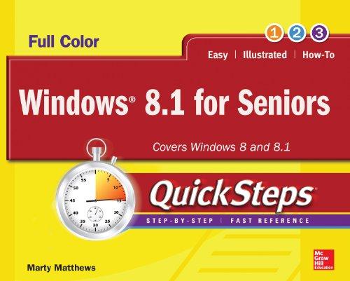 Windows 8.1 for Seniors QuickSteps Pdf