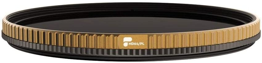 PolarPro Quartzline ND64//PL 77mm Grey and Polarising Filter
