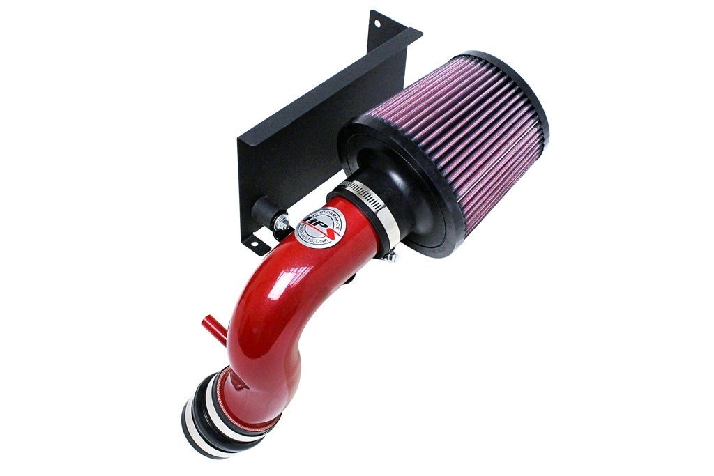 HPS 27-544R Red Shortram Air Intake Kit with Heat Shield (Cool Short Ram SRI)