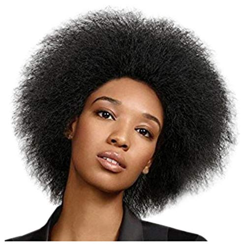 Inkach Clearance Short Curly Wig for Black Womens