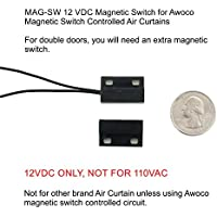 MAG-SW 12VDC Awoco Magnetic Switch for Awoco Magnetic Controlled Air Curtains - SWITCH ONLY