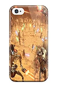 High Quality Shock Absorbing Case For Iphone 4/4s-star Wars Front