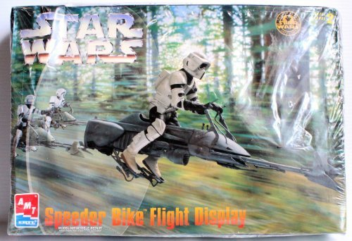 (AMT Star Wars Speeder Bike Model )