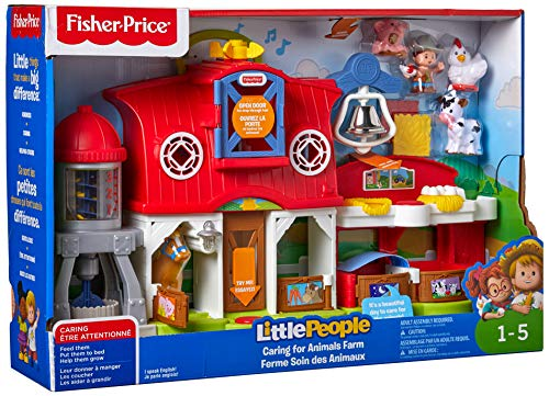 Fisher-Price Little People Caring for Animals Farm (Little People Girl)