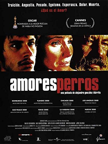 Amores Perros Poster Movie Spanish D 11x17 Vanessa Bauche...