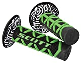 Scott Sports 219626-1089 Green/Black Diamond Motorcycle Grips