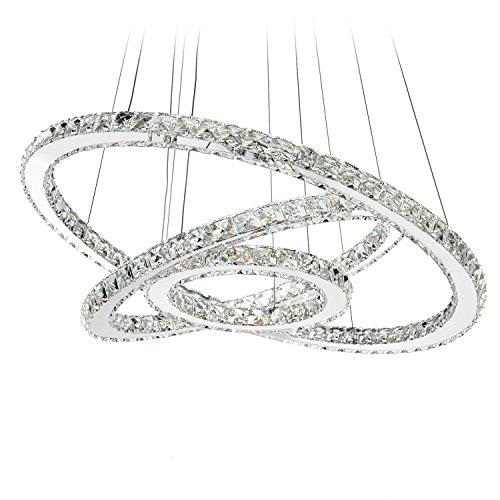 Led Ring Pendant Light in US - 8