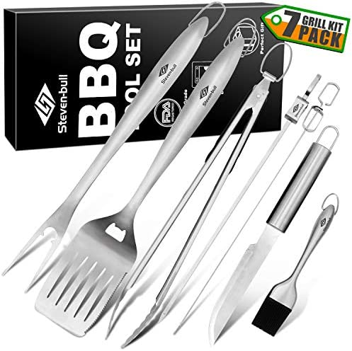 STEVEN BULL Stainless Spatula Barbecue Grilling product image