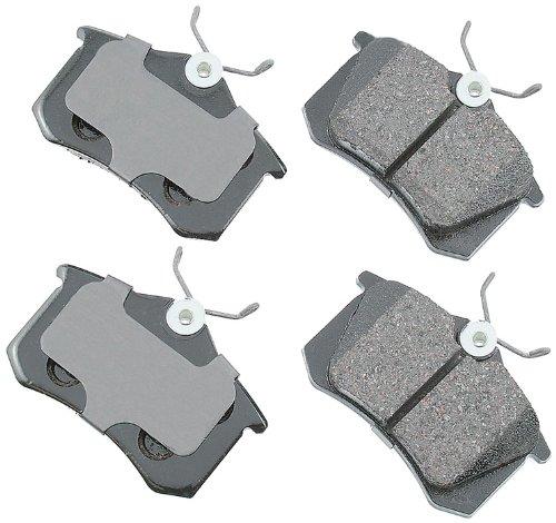 Akebono EUR340A EURO Ultra-Premium Ceramic Brake Pad Set