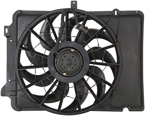 Assembly Sable Radiator Fan Shroud - Spectra Premium CF15041 Engine Cooling Fan Assembly