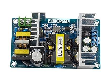 Amazon.com: AC-DC Inverter 110V 220V 100-265V to 36V 5A Adapter ...