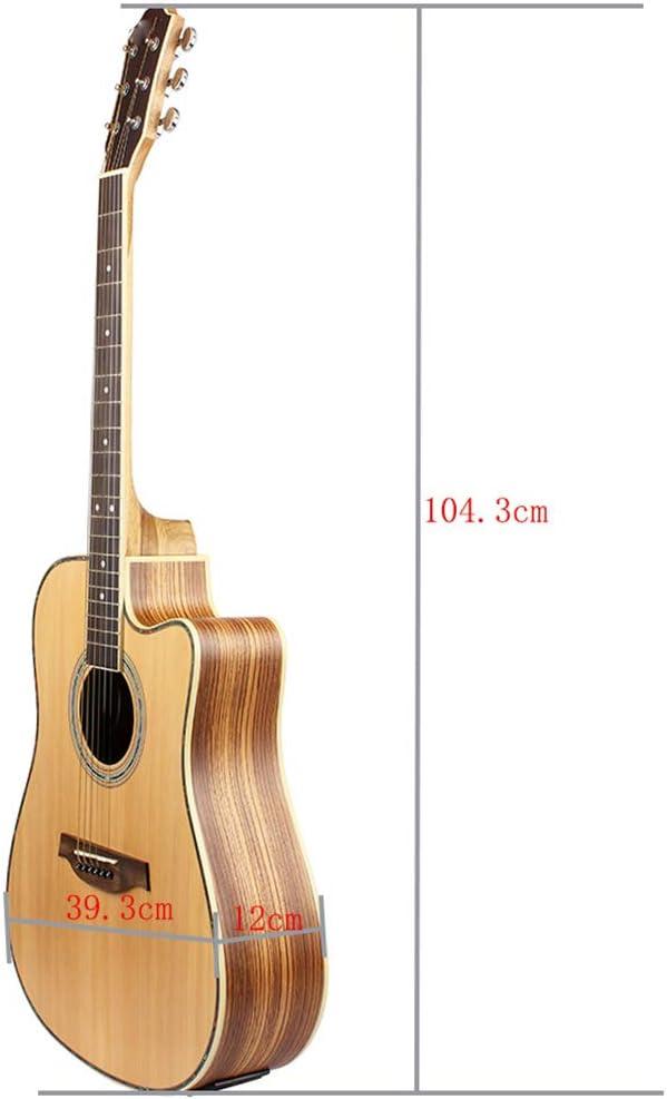 NUYI Entrada Profesional De Guitarra Popular De 41 Pulgadas para ...