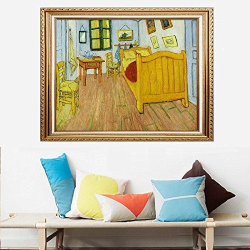 - Faraway Van Gogh Bedroom in Arles Diamond Painting 5D DIY Handmade Crystal Rhinestone Painting Mosaic Kits for Wall Decor 16X20inch