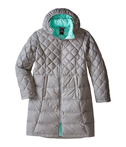 The North Face Girl's Metropolis Down Jacket CRV2 (XL(18), Metallic Silver (85V)) by The North Face