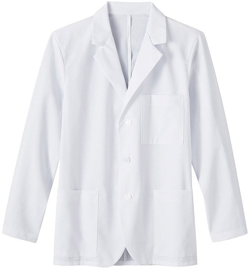 Fundamentals by Meta Labwear Men's 3-Pocket Consultation 30''; Lab Coat Medium White by Meta Labwear (Image #1)