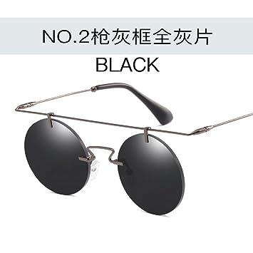 JUNHONGZHANG Gafas De Sol Circulares Personalizadas Gafas De ...