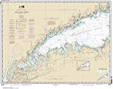 NOAA Chart 12363: Long Island Sound Western Part, 32.5 X 41.6, TRADITIONAL PAPER